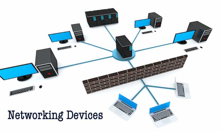 What is NETWORKING DEVICES and its types?