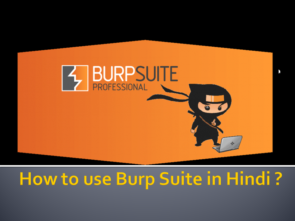 How to use Burp Suite in Hindi ?