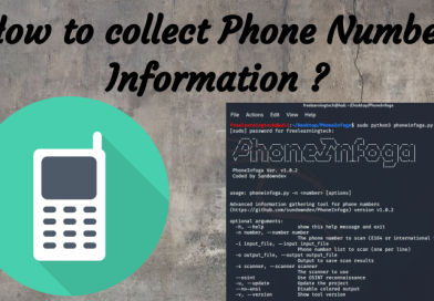 How to collect Phone Number Information ?