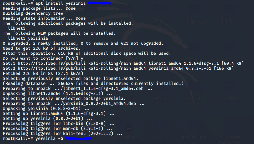DHCP Starvation attack