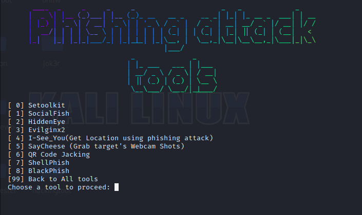 All in One Hacking Tools