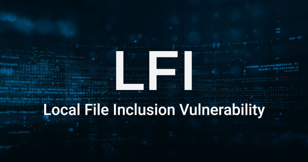 Local File Inclusion Vulnerability
