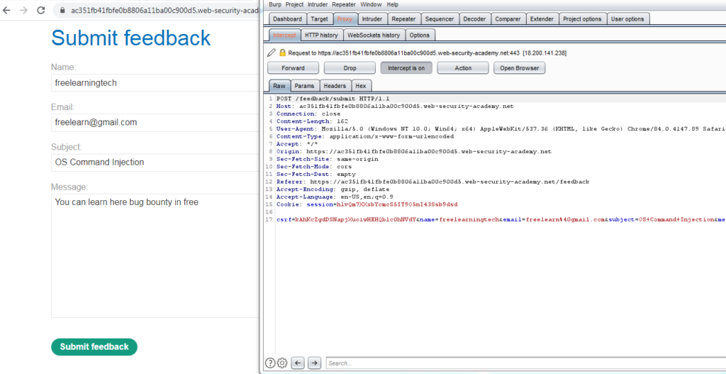 OS Command Injection Attack