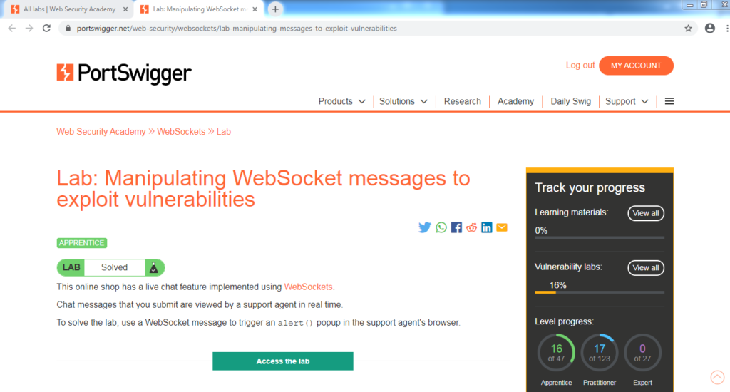 Websockets Security