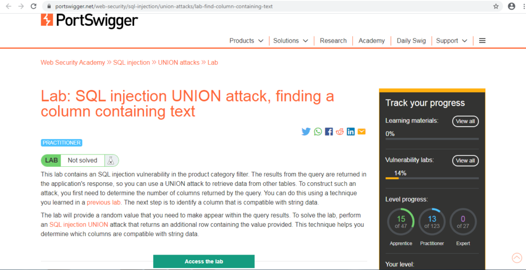 Types of SQL Injection Attack